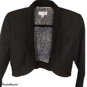 ⭐BOGO⭐ Isaac Mizrahi Black Cropped Blazer Size 4